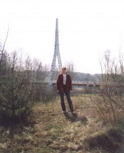 Most wiszący w Goławicach