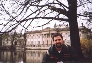 Pałac na wodzie w Łazienkach w Warszawie