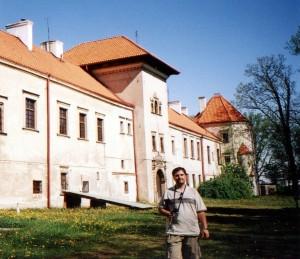 Zamek w Bykach