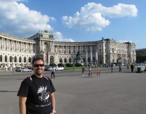 Pałac Hofburg w Wiedniu w Austrii
