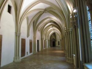 Krużganki w opactwie Klosterneuburg w Austrii