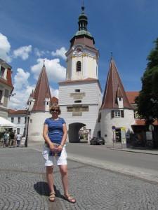 Steiner Tor w Krems und Stein w Austrii
