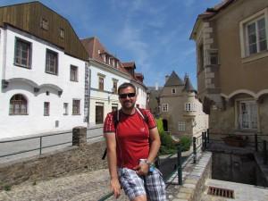 Uliczki Krems w Krems und Stein w Austrii