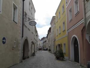 Uliczka Stein w Krems und Stein w Austrii