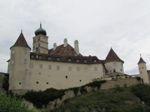 Zamek w Schönbühel w Austrii