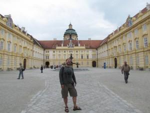 Dziedziniec Prałatów w opactwie Melk w Austrii