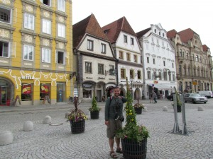 Stadtplatz w Steyr w Austrii