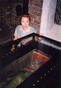 Mumia Jeremiego Wiśniowieckiego w klasztorze na Łysej Górze