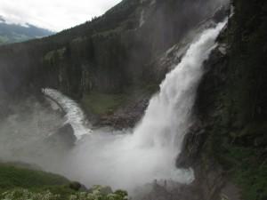 Wodospady Krimml w Austrii