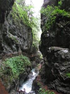 Wolfsklamm w Austrii