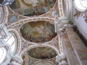 Sklepienie katedry Św. Jakuba w Innsbrucku w Austrii