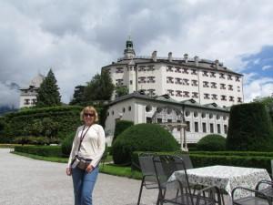 Zamek Ambras w Innsbrucku w Austrii