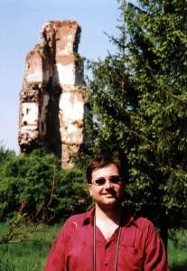 Pozostałości zamku w Rytwianach