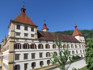Zamek Eggenberg w Graz w Austrii