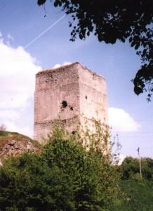 Wieża zamku w Tudorowie