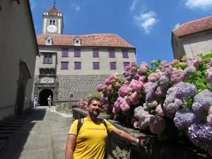 Zamek Riegersburg w Austrii