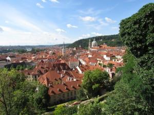 Panorama Pragi z Hradčan