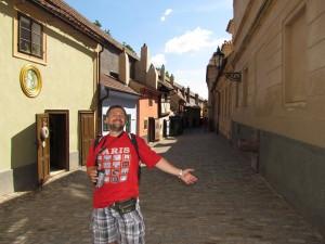 Złota uliczka w Pradze