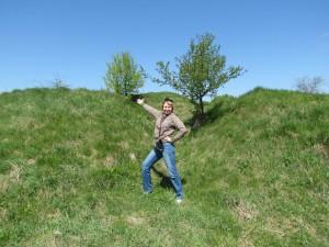 Pozostałości po zamku w Koziegłowach