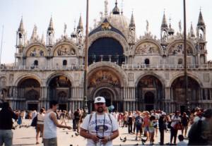 Plac Św. Marka w Wenecji we Włoszech