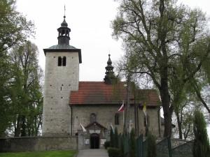 Kościół romański w Wysocicach