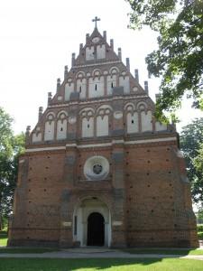 Cerkiew - pozostałość zamku w Kodniu