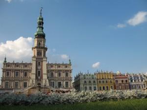 Ratusz i kamienice ormiańskie w Zamościu