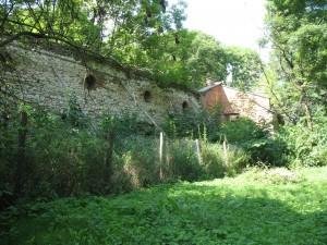 Ruiny zamku w Sielcu