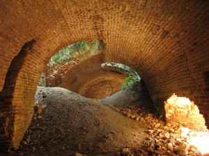 Ruiny zamku w Kryłowie