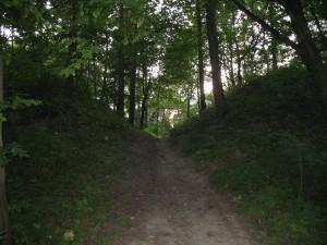 Tu był kiedyś zamek w Grabowcu