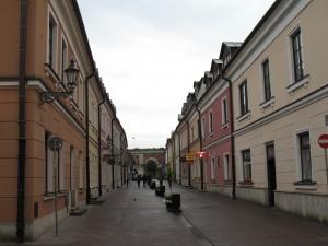 Ulica Grodzka w Zamościu