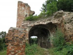 Ruiny zamku w Zawieprzycach