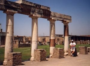 Forum w Pompejach we Włoszech