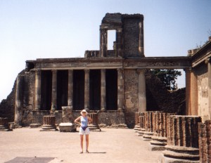 Bazylika w Pompejach we Włoszech