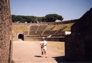 Arena rzymska w Pompejach we Włoszech