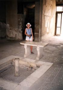 Szkoła w Herkulanum we Włoszech