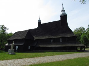 Kościół drewniany w Oleśnie