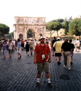Łuk Konstantyna w Rzymie we Włoszech