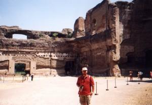 Termy Karakalli w Rzymie we Włoszech