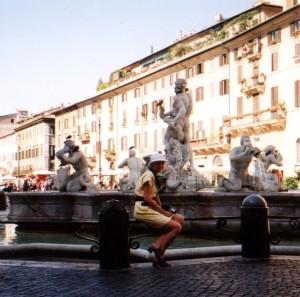 Piazza Navona w Rzymie we Włoszech