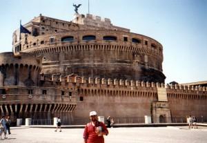 Zamek Świętego Anioła w Rzymie we Włoszech
