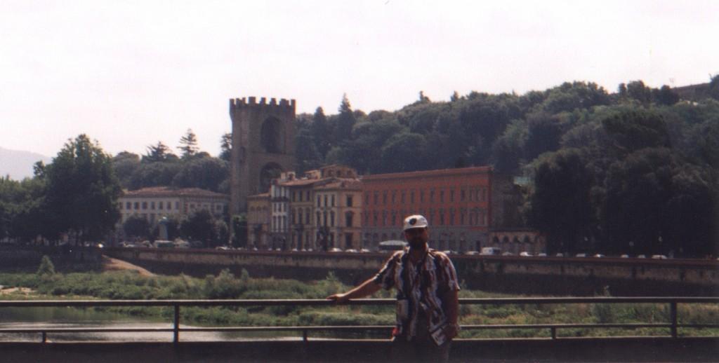 Widok na Florencję we Włoszech