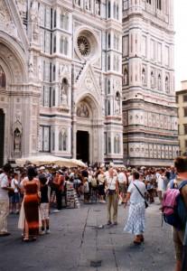 Katedra Santa Maria del Fiore we Florencji we Włoszech