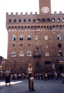 Palazzo Vecchio we Florencji we Włoszech