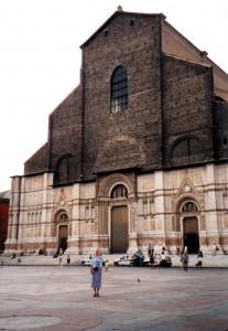 Kościół San Petronio w Bolonii we Włoszech