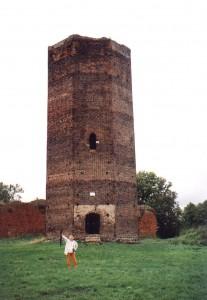Wieża zamku w Bolesławcu