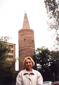 Wieża Zamku Piastowskiego na wyspie Ostrówek w Opolu