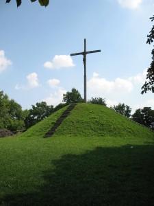 W tym miejscu stał zamek w Chełmie
