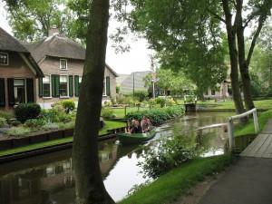 Giethoorn w Holandii