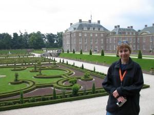 Pałac królewski w Apeldoorn w Holandii